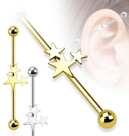 38mm Industrial Ohrpiercing