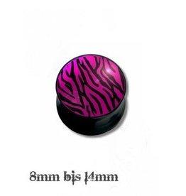 Ohr Plug Zebra
