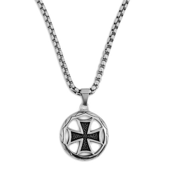 Edelstahlanhänger Eisernes Kreuz