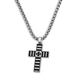 Kreuz Halskette Herren