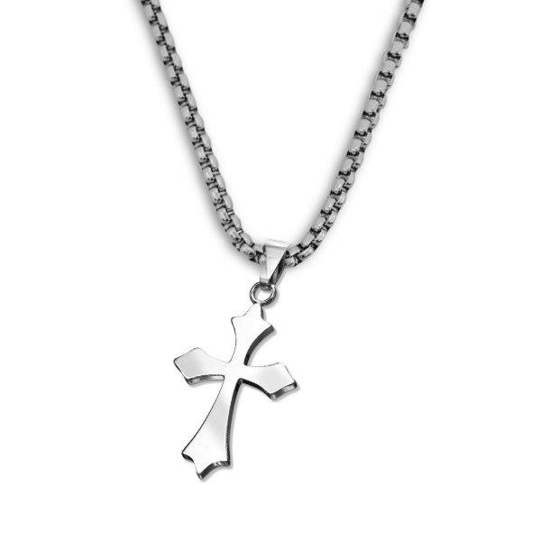Simples Celtic Kreuz aus Edelstahl