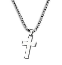 Edelstahlanhänger Kreuz