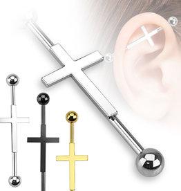 Industrial Piercing Kreuz