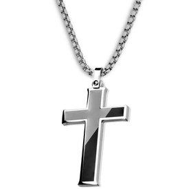 Kreuz Anhänger Stahl
