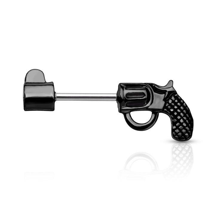 Nippelpiercing  Revolver in 3 Farben bestellbar