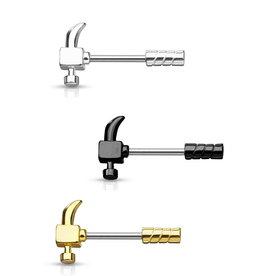 Brustwarzenpiercing  Hammer