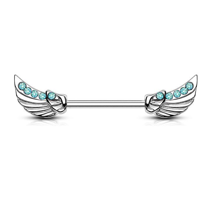 Brustwarzenpiercing  Flügel -2 Farben zur Auswahl