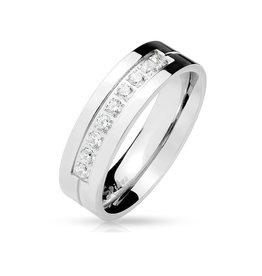 Damen Ring mit Zirkoniasteine