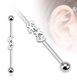 Piercing Barbell für Ohr