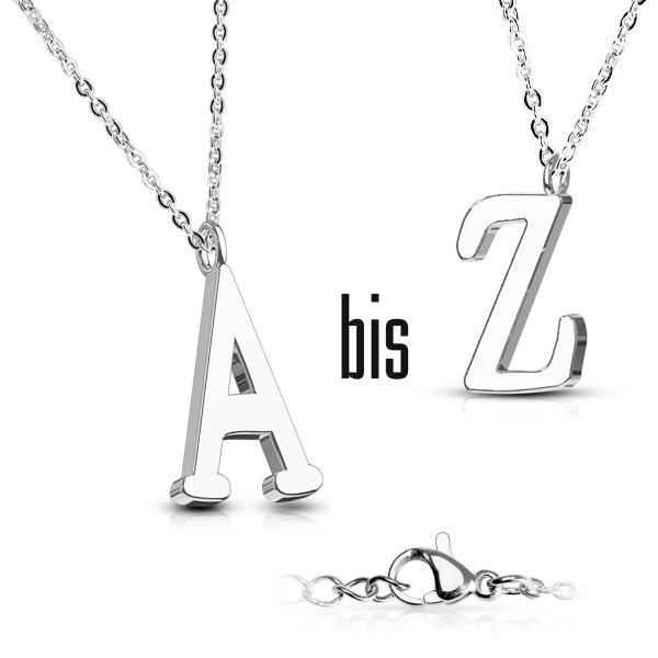 Halskette mit Buchstabe A-Z