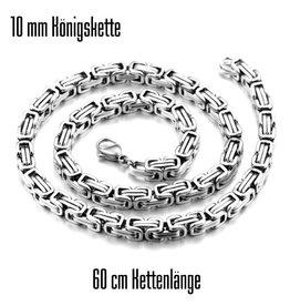 10 mm Königskette Edelstahl