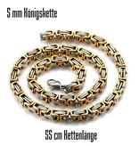 5 mm Königskette aus Edelstahl