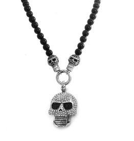 Biker Halskette Skull