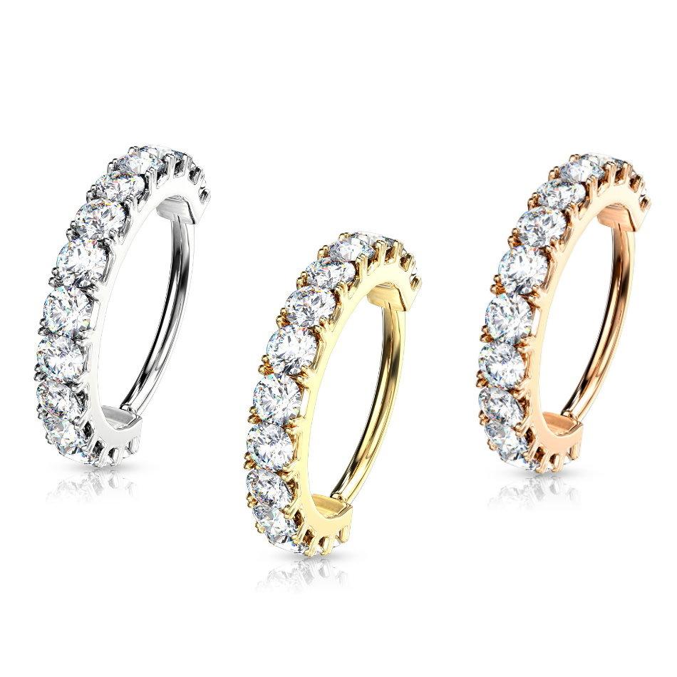 Piercing Ring für Helix & Tragus