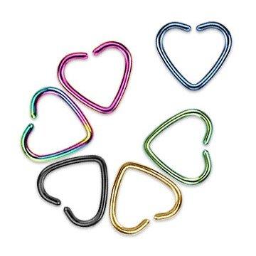 Daith Piercing - Herz 5 Farben