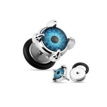 Fakepiercing Auge aus Chirurgenstahl