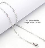 Halskette aus Edelstahl - Set Angebot!