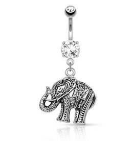 Elefant Bauchnabelpiercing