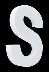 Blanco letter S