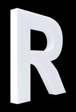 Blanco letter R