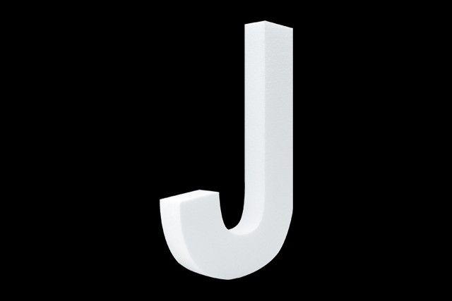 Blanco letter J