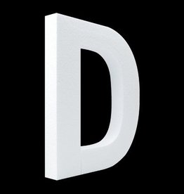 Blanco letter D