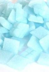 Glas-mozaieksteentjes 1x1 cm ca. 200 stuks Lichtblauw
