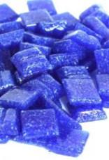 Glas-mozaieksteentjes 1x1 cm ca. 200 stuks Donkerblauw