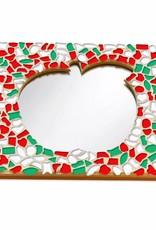 Mozaiek pakket Spiegel DeLuxe Appel Kerst