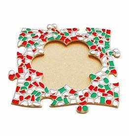 Mozaiek pakket Fotolijst Bloem Kerst