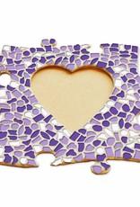 Fotolijst Hart Wit-Paars-Violet