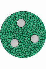 Cristallo Waxinelichthouder Uni Donkergroen Mozaiek pakket PREMIUM