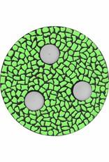 Cristallo Waxinelichthouder Uni Lichtgroen Mozaiek pakket PREMIUM