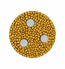 Cristallo Mozaiek pakket Waxinelichthouder Uni Oranje PREMIUM
