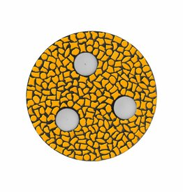 Mozaiek pakket Waxinelichthouder Uni Oranje PREMIUM