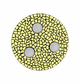 Mozaiek pakket Waxinelichthouder Uni Geel PREMIUM