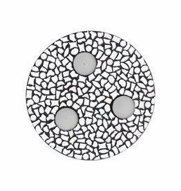 Mozaiek pakket Waxinelichthouder Uni Wit PREMIUM