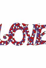 Cristallo LOVE Wit-Paars-Rood Mozaiek pakket PREMIUM