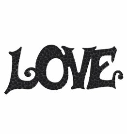 Cristallo Mozaiek pakket LOVE Zwart Premium