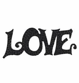 Mozaiek pakket LOVE Zwart Premium