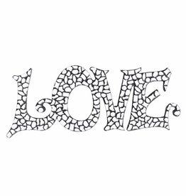 Mozaiek pakket LOVE Wit Premium