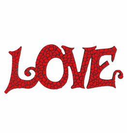 Cristallo Mozaiek pakket LOVE Rood Premium