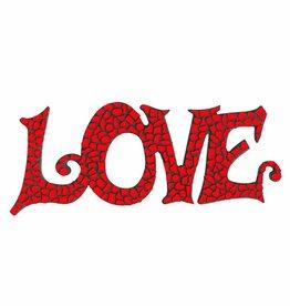 Mozaiek pakket LOVE Rood Premium