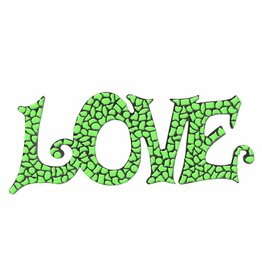 Mozaiek pakket LOVE Lichtgroen Premium