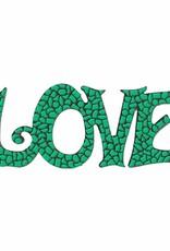 LOVE Donkergroen Mozaiek pakket PREMIUM