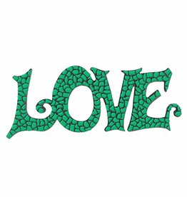 Mozaiek pakket LOVE Donkergroen Premium