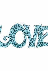 Cristallo LOVE Lichtblauw Mozaiek pakket PREMIUM