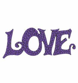 Mozaiek pakket LOVE Paars Premium