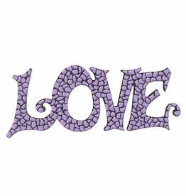 Mozaiek pakket LOVE Violet Premium