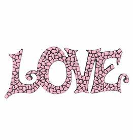 Mozaiek pakket LOVE Rose Premium
